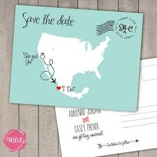 Make Your Own Save The Dates Save The Date Custom Postcards Pacq Co