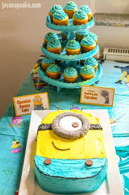 Minion Cake Decorations Minion Birthday Party Javacupcake