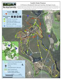 Raccoon Creek State Park Map by Future Adventures South Jersey Trails