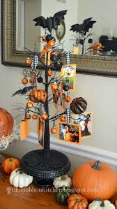 blue ribbon kitchen halloween photo family tree