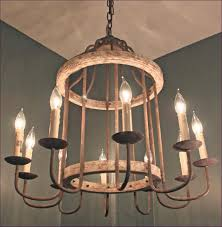 interiors magnificent iron dining room light fixtures white cage