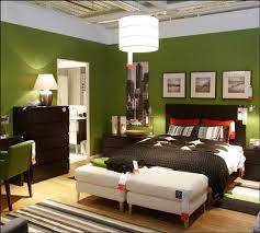 Green Wall Bedroom by Bedroom Inspiring Green Wall Color With Frame Wall Plus Bed Set