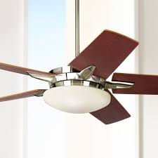 Ls Plus Ceiling Fans With Lights 52 Casa Endeavor Brushed Nickel Ceiling Fan Nickel Ceiling Fan