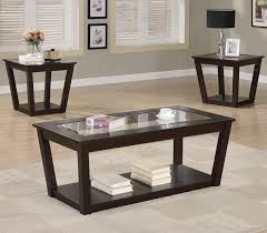 coffee tables beautiful espresso coffee table living room set