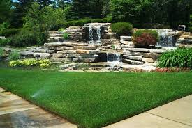 Backyard Waterfall 25 Backyard Waterfalls To Include In Your Landscaping