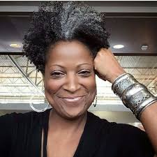how to wear short natural gray hair for black women pin by monica burroughs on going gray and proud pinterest