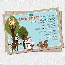 Baby Shower Invitation Cards U2013 Woodland Invitations Free Printable Invitation Design