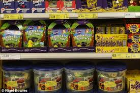 easter eggs sale not even new year and easter eggs are already on sale daily mail