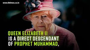 Queen Elizabeth Meme - queen elizabeth a descendant of prophet muhammad ancestry expert