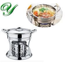 2018 pot cooker liquid stove set chafing dish pots heater