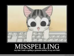 Spelling Meme - misspelling anime meme com