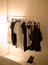homemade hanging clothes rack u2014 kelly home decor hanging clothes