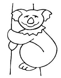 free printable koala coloring pages kids coloring
