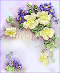 silk ribbon silk ribbon embroidery kits lado artfire shop