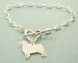 australian shepherd 500 amazon com 925 sterling silver australian shepherd dog chain