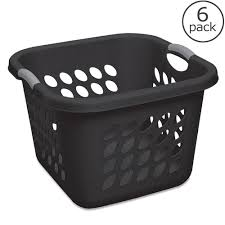sterilite wheeled laundry hamper upc 073149121790 sterilite ultra laundry basket 6 pack