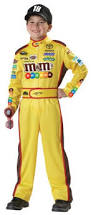 amazon com california costumes nascar kyle busch child costume