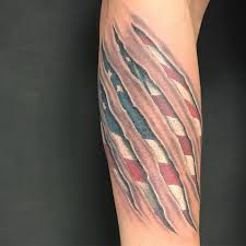 Eagle And Flag Tattoos 53 Coolest Must Watch Designs For Patriotic 4th July Tattoos