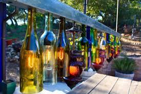 lights made out of wine bottles lighting wine bottle outdoor lighting