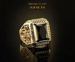 man luxury rings images Black stone signet ring large men signet ring luxury mens signet jpg