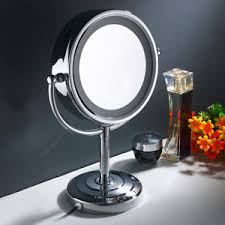 makeup mirror 10x magnification with light 10x magnification 8 5 double sided makeup cosmetic mirror w led