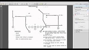 7on7 Flag Football Playbook How To Play Football Passing Routes Football Formations Football