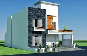 modern house plan 3d front elevation design 479 tulip corner plot