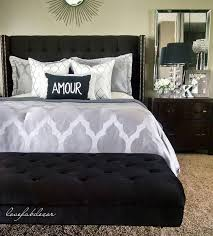 The  Best Black Headboard Ideas On Pinterest Black Bedroom - Bedroom ideas for black furniture