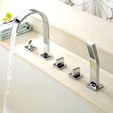 pull out bathtub faucet bathtub faucet with sprayer pull out bathroom attachment