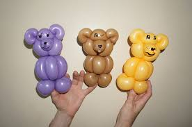 teddy balloons balloon animals twisting how to make teddy from