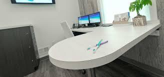 application nj laser dentistry consultation room desk worktop