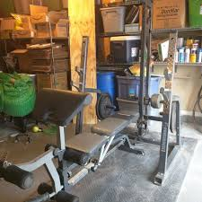 Squat Bench Rack For Sale Find More Powerhouse Weight Bench Squat Rack And Pulley With