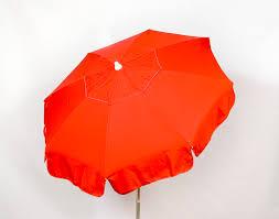 Orange Patio Umbrella by Solid Acrylic Italian Umbrella U2013 6 Foot Parasol Enterprises