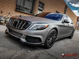 maybach bentley mercedes benz maybach s600 v12 wrapped in charcoal matte metallic