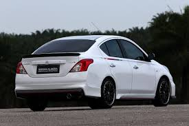 nissan tiida 2008 modified nissan sunny nismo performance package concept unveiled