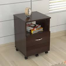Single Drawer File Cabinet Mobile Single Drawer Espresso File Cabinet Free Shipping Today