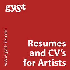 cvs resume paper gyst article resumes cvs for artists getting your sh t together resumes and cv s for artists