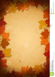 thanksgiving leaves on an paper background royalty free stock