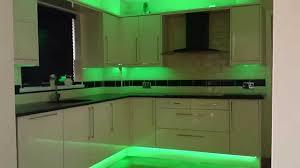 Under Cabinet Led Lights Kitchen Fabulous Led Tape Lights Kitchen Also Homey Idea Strip Lighting