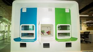 Sleeping Pods Did You Check Out Grabon U0027s Plush Office At Hyderabad Techstory