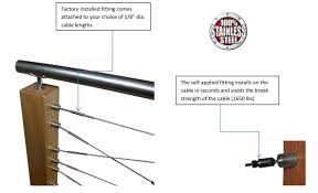 diy cable railing kits cable loft tampa florida