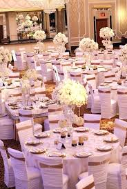 pink white gold wedding white and gold centerpieces white gold wedding decoration for