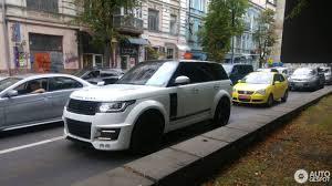 land rover lumma в украине засветился эксклюзивный range rover lumma clr r топжыр