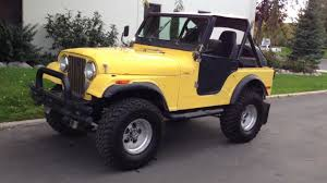 cj jeep lifted 1980 jeep cj5 4x4 lifted inline 6 6 speed clean youtube