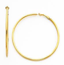 18k gold earrings italian hoop earrings 18k yellow gold italian hoop earrings