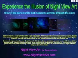 Glow In The Dark Star Ceiling by Night View Art Glow In The Dark Stars Landscape Art And Ceiling