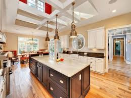 Open Kitchen With Island by Industrial Design Decor Big Kitchen With Island Open Kitchen Into