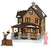 A Christmas Story Ornament Set - a christmas story 20 inch leg lamp prop replica by neca desk
