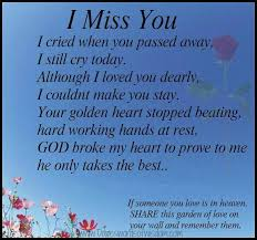 quotes about a loved one in heaven quotesta