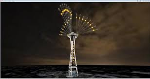 how to compute fireworks the technology behind the space needle u0027s